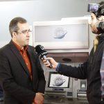 مصاحبه شبکه ایران کالا با مدیر عامل شرکت مازه در حاشیه نمایشگاه تراکنش ایران